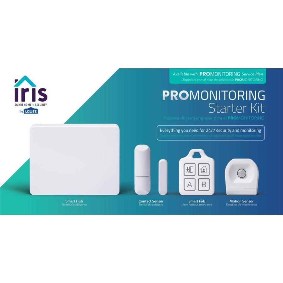 Iris Pro Monitoring Home Automation Security Pack Deals
