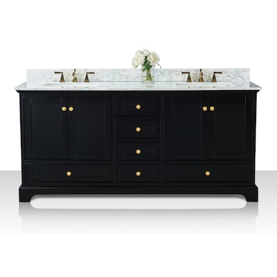 Ancerre Designs Audrey 72 In Black Onyx