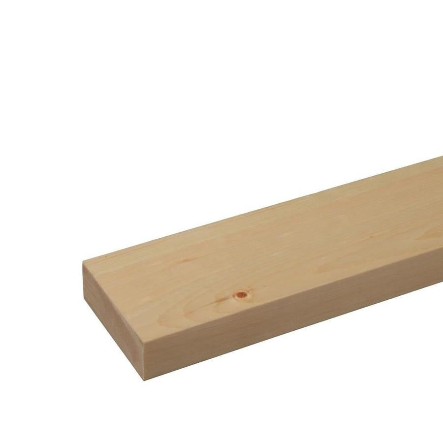 (Common: 1-1/8-in x 4-in x 12-ft; Actual: 1.125-in x 3.5-in x 12-ft) Eastern White Pine Board