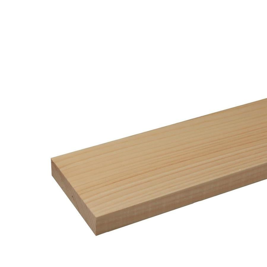 Eastern White Pine Board (Common: 1-1/4-in x 6-in x 12-ft; Actual: 1.5-in x 6-in x 12-ft)