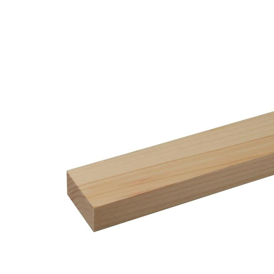 (Common: 1-1/8-in x 3-in x 8-ft; Actual: 1.125-in x 2.5-in x 8-ft) Eastern White Pine Board