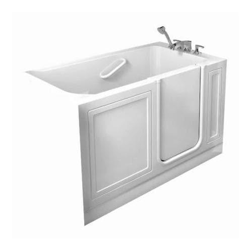 American Standard Walk In Baths Linen Acrylic Rectangular