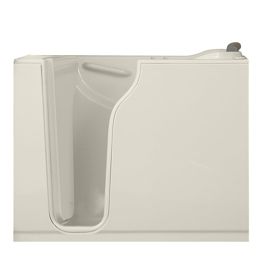 American Standard Walk-In-Baths 52-in L x 30-in W x 42-in H White Gelcoat and Fiberglass Rectangular Walk-in Air Bath