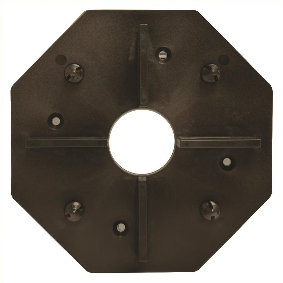 DeckWise Hardwood Deck Tile Connector 1 Black Deck Hidden Fasteners (1 Square ft Coverage)
