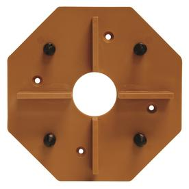Deckwise Hardwood Deck Tile Connector 1 Brown Hidden Fasteners Square Ft Coverage