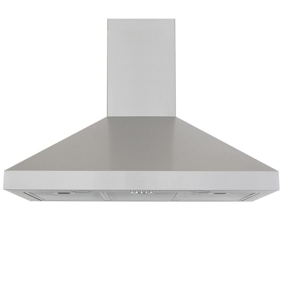 Windster Convertible Wall-Mounted Range Hood (Stainless Steel) (Common: 36-in; Actual: 35.75-in)