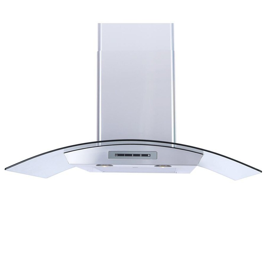Windster Convertible Wall-Mounted Range Hood (Stainless Steel) (Common: 36-in; Actual: 35.5-in)