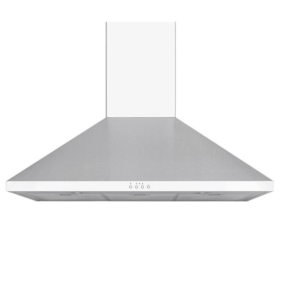 Windster Convertible Wall-Mounted Range Hood (Stainless steel) (Common: 30-in; Actual: 29.75-in)