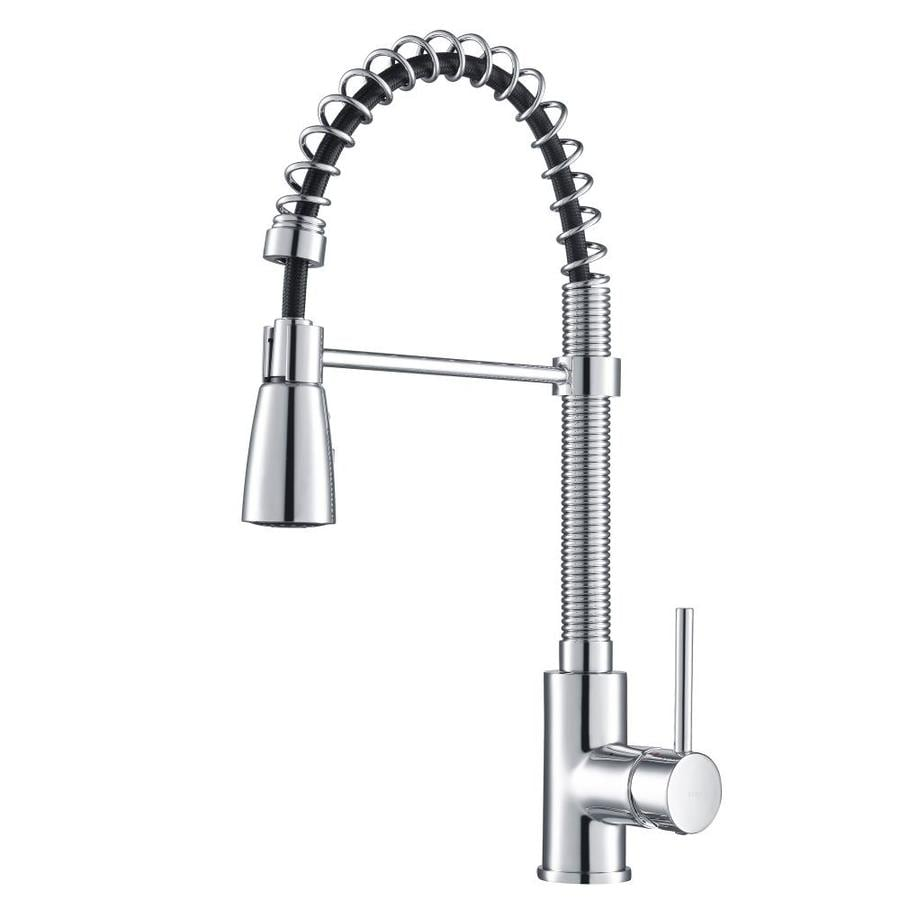 Kraus Premier Chrome 1-Handle Pre-Rinse Kitchen Faucet