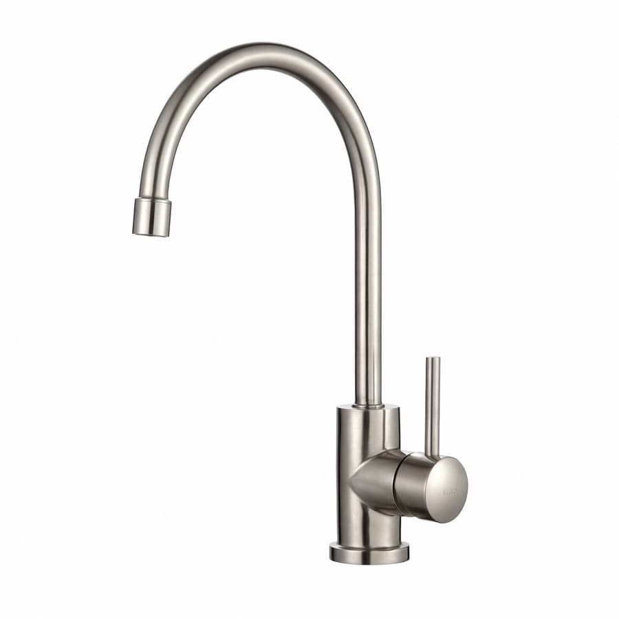 Kraus Stainless Steel Kitchen Faucet Stainless Steel 1-Handle Pull-Down Kitchen Faucet