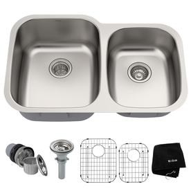 Undermount Kitchen Sinks at Lowes.com on 23 x 16 kitchen sink, 24 x 16 kitchen sink, 1910 kitchen sink, 18 x 10 kitchen sink, black double bowl kitchen sink, all in one kitchen sink, 24 x 18 kitchen sink, 31 x 16 kitchen sink, double bowl undermount kitchen sink, 32 x 18 kitchen sink,