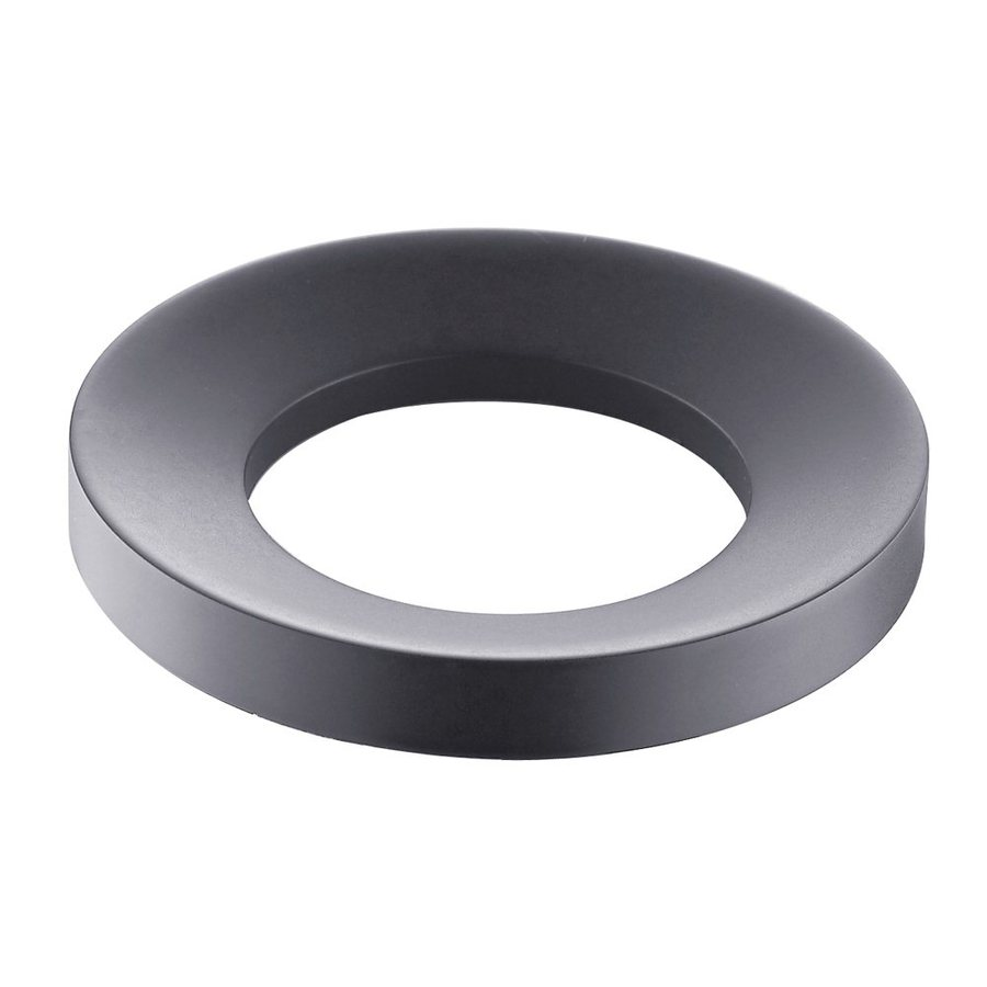 Kraus Oil-Rubbed Bronze Mounting Ring for Vessel Sinks