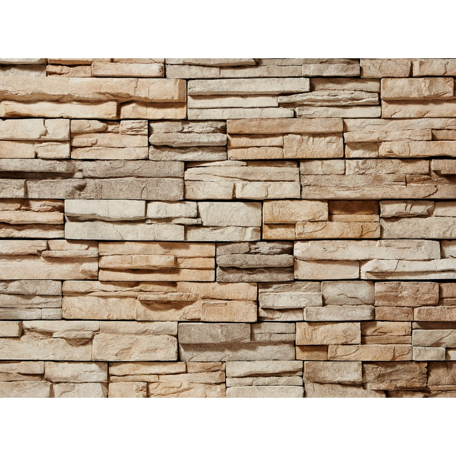 ClipStone ProStack 8-sq ft Tan Faux Stone Veneer