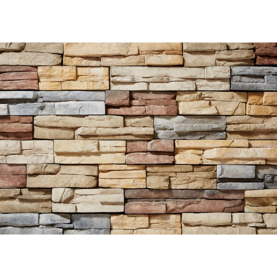 ClipStone ProStack 8-sq ft Poinset Faux Stone Veneer