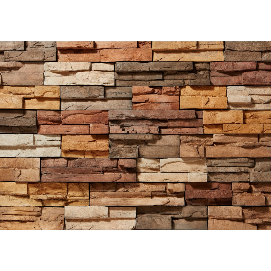 Shop Clipstone Prostack 8 Sq Ft Sand Faux Stone Veneer At