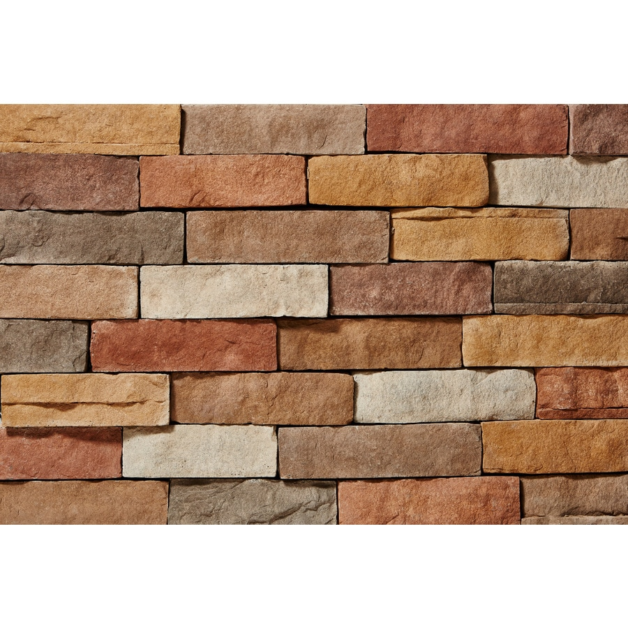 Shop Clipstone Ledgestone 8 Sq Ft Sand Faux Stone Veneer
