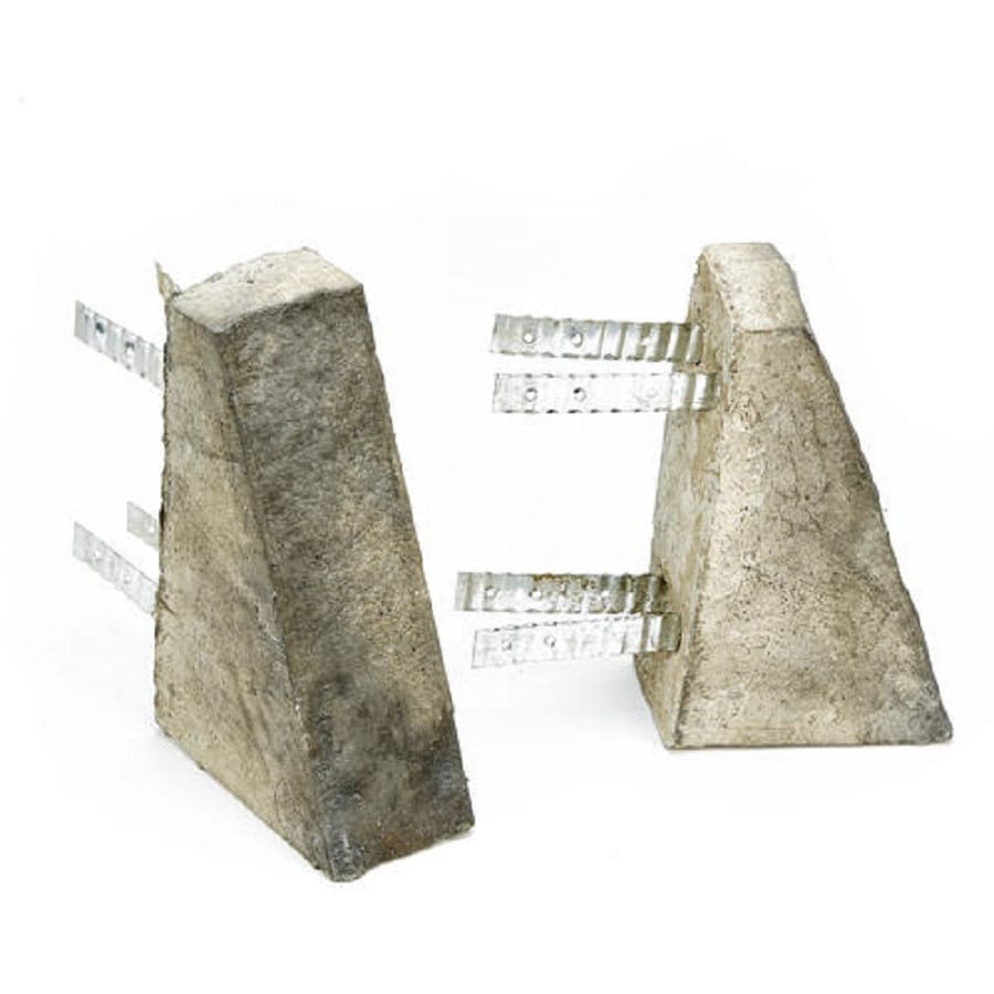 ClipStone Accessory 10-in x 3.5-in Smoke Hearthstone Stone Veneer Trim