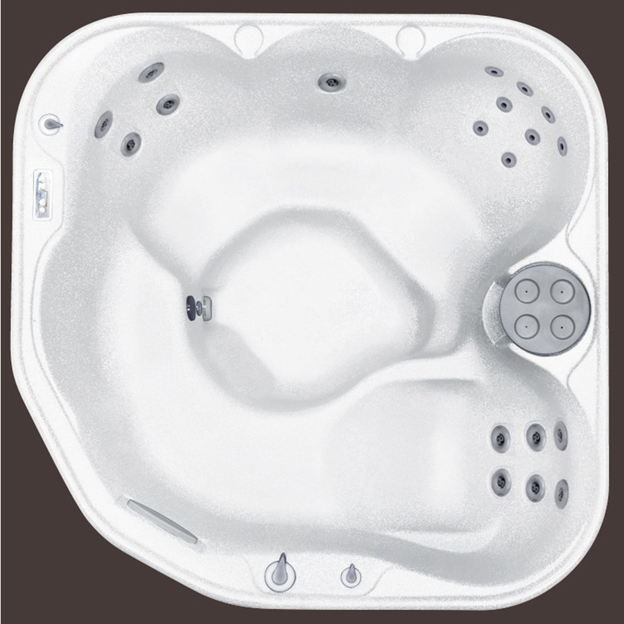 Write A Review About Lifesmart 5 Person Hot Tub At Lowes Com