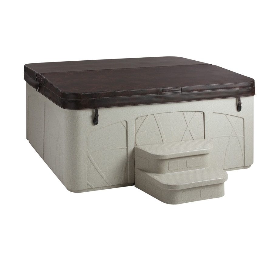 shop lifesmart 5 person rectangular hot tub at. Black Bedroom Furniture Sets. Home Design Ideas