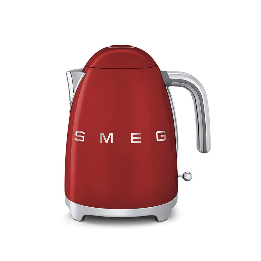 SMEG Red 7-Cup Electric Tea Kettle
