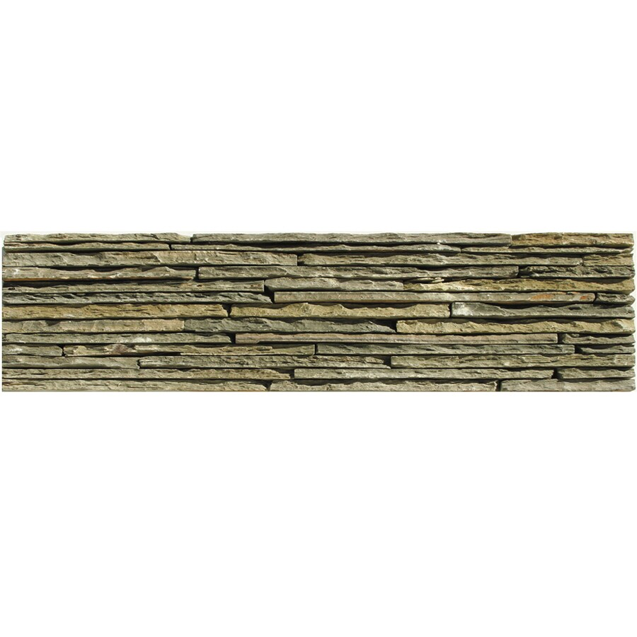 Solistone Portico Slate 6-Pack Montsegur Slate Wall Tile (Common: 6-in x 23-in; Actual: 6-in x 23.5-in)