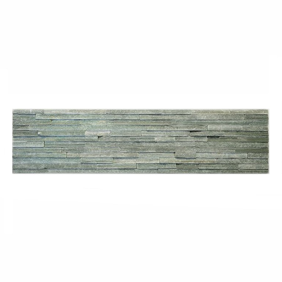 Solistone Portico Slate 6-Pack Beaucaise Slate Wall Tile (Common: 6-in x 23-in; Actual: 6-in x 23.5-in)