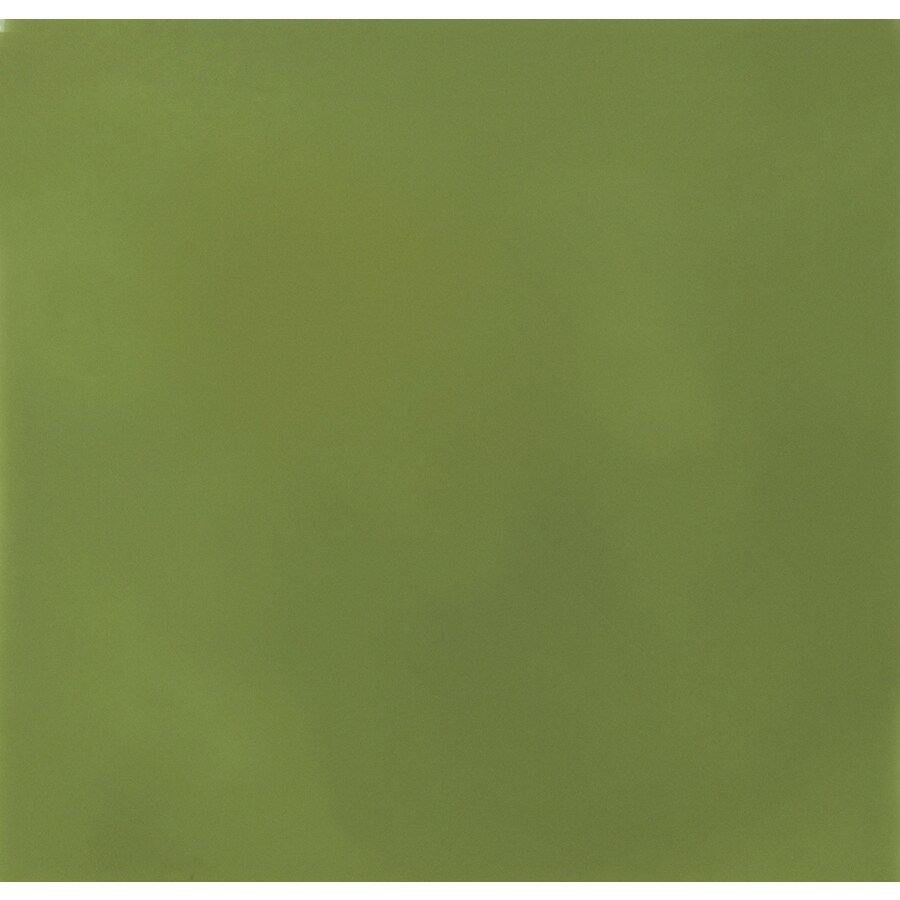 Solistone Hand-Painted Ceramic 10-Pack Nopal Ceramic Wall Tile (Common: 6-in x 6-in; Actual: 6-in x 6-in)