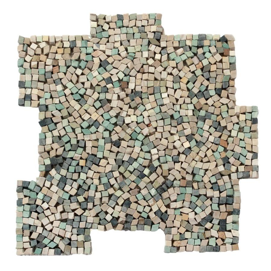 Solistone Palazzo Pebbles 10-Pack Nettuno Pebble Mosaic Floor and Wall Tile (Common: 12-in x 12-in; Actual: 12-in x 12-in)
