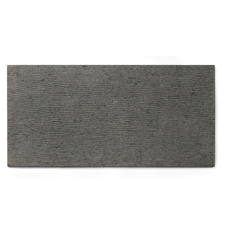 Solistone Basalt Etched Floor and Wall Tile (Common: 15-in x 30-in; Actual: 15-in x 30-in)