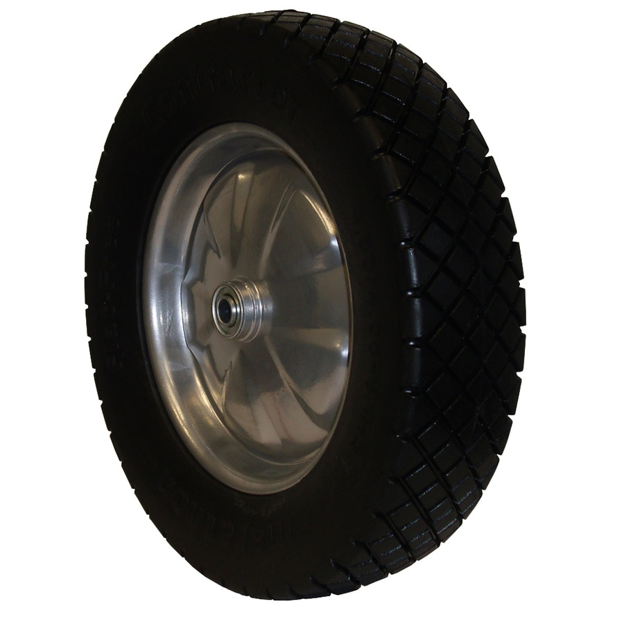 Marathon 15.4-in Wheel for Wheelbarrow