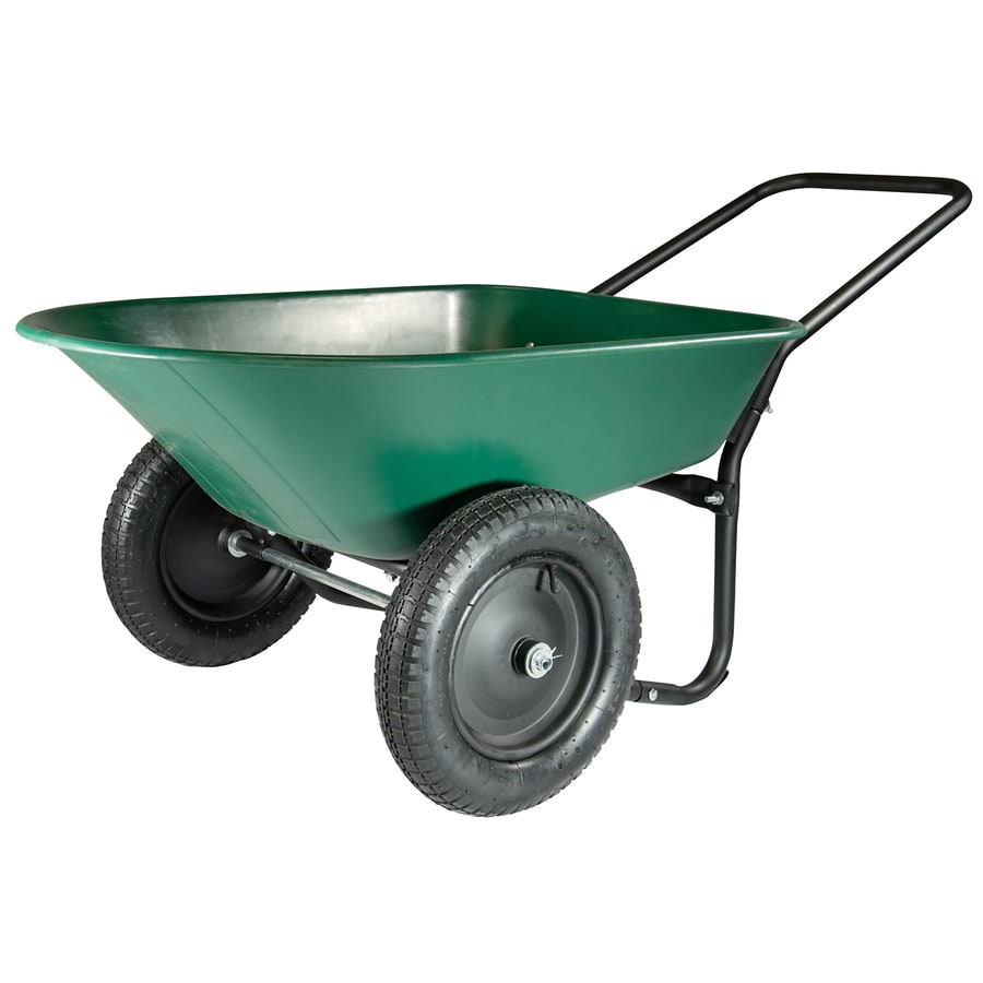 Marathon 5 Cu Ft Poly Wheelbarrow