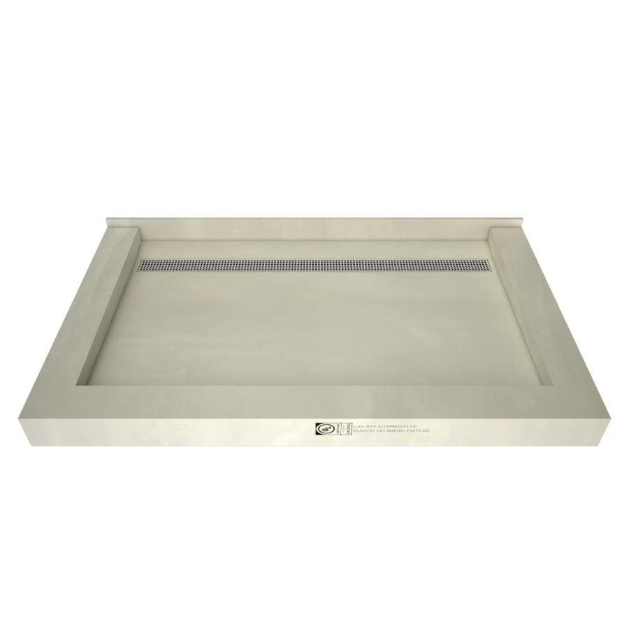 Redi Trench Made For Tile Molded Polyurethane Shower Base 48 In W X 72