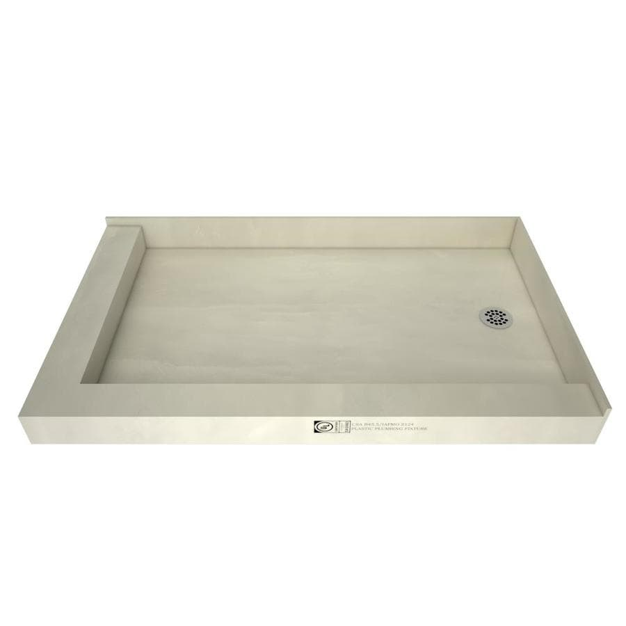 Tile Ready Made for Tile Fiberglass and Plastic Shower Base (Common: 37-in W x 54-in L; Actual: 37-in W x 54-in L)