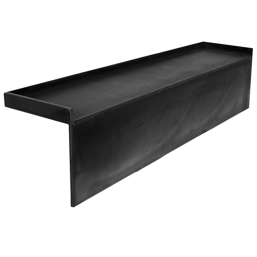 Redi Bench Black Straight Shower Bench