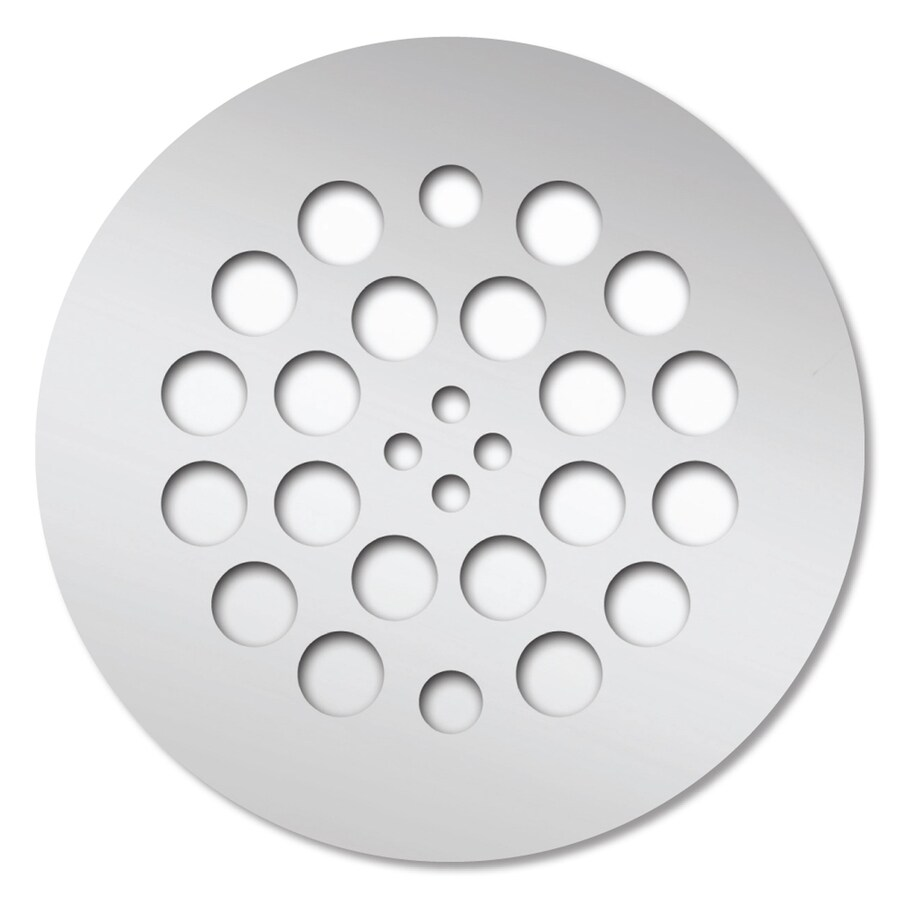 Redi Drain Chrome Metal Drain Cover