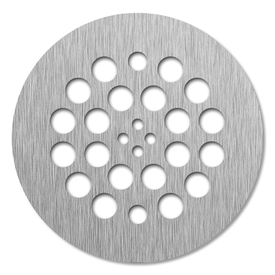 Redi Drain Brushed Nickel Metal Drain Cover