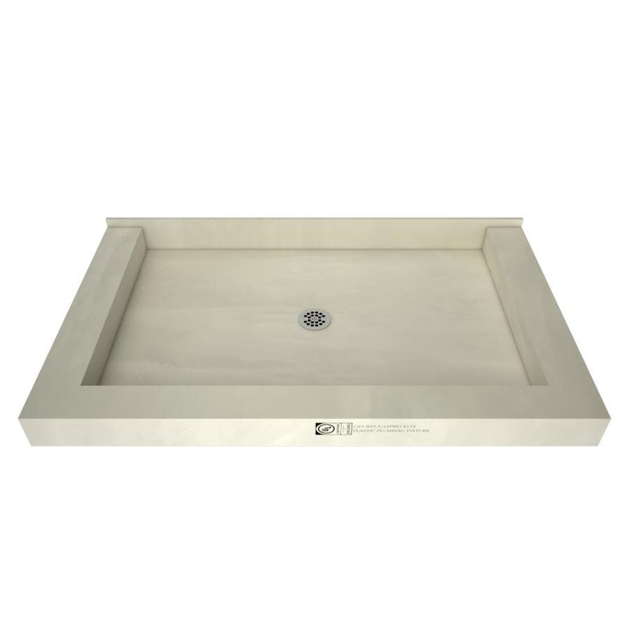 Redibase Made for Tile Molded Polyurethane Shower Base (Common: 34-in W x 60-in L; Actual: 34-in W x 60-in L)