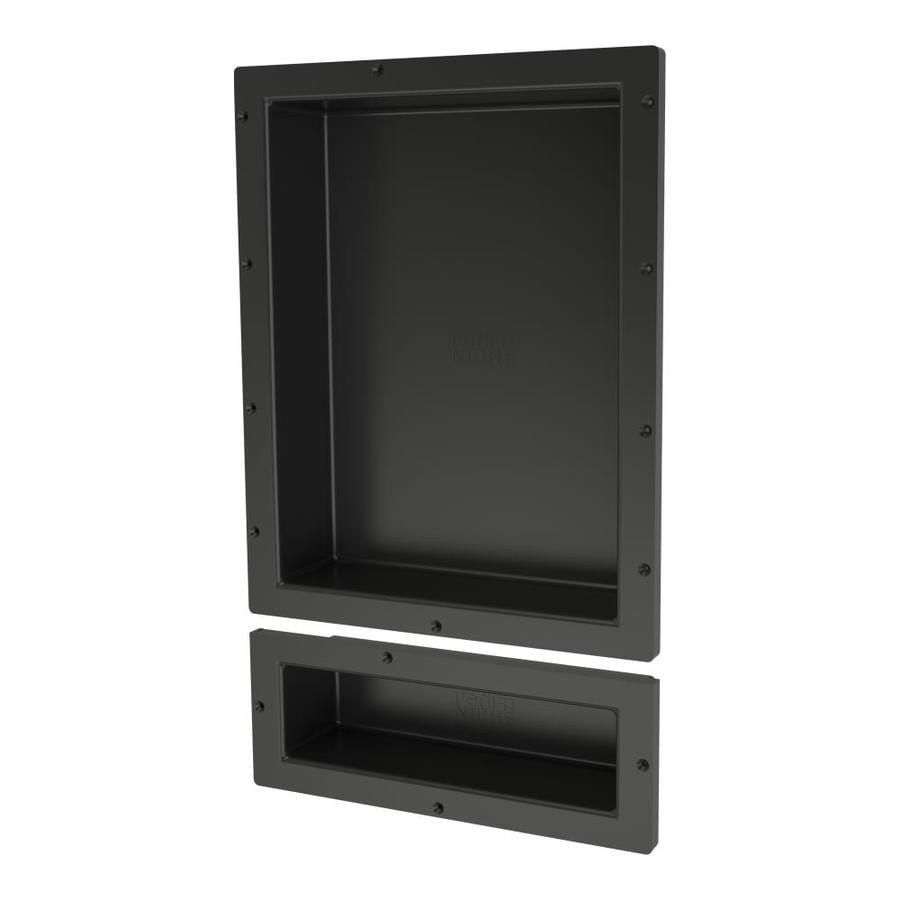 Redi Niche Black Shower Wall Shelf At Lowesforpros.com
