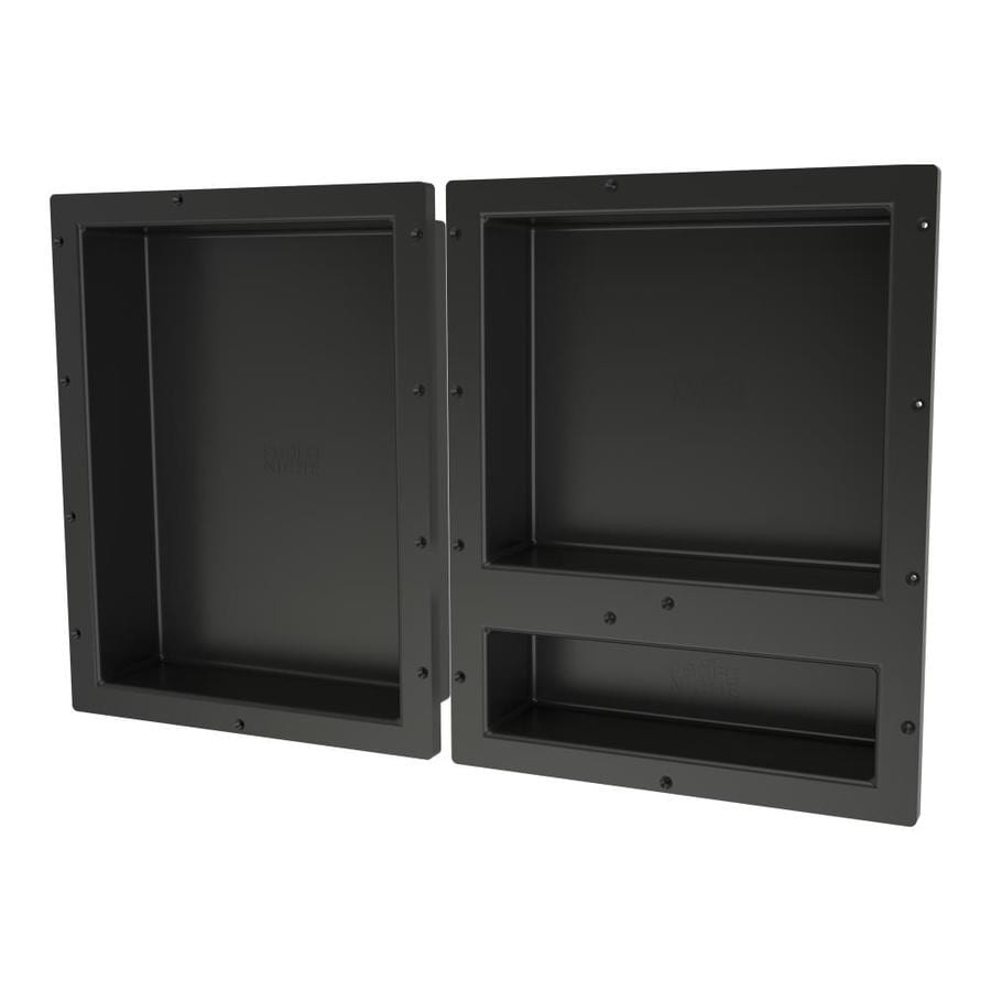 Redi Niche Black Shower Wall Shelf At Lowes.com