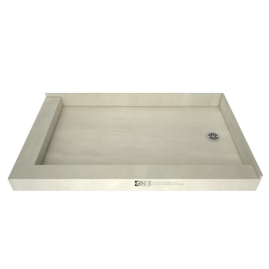 Redibase Made for Tile Molded Polyurethane Shower Base (Common: 30-in W x 48-in L; Actual: 30-in W x 48-in L)