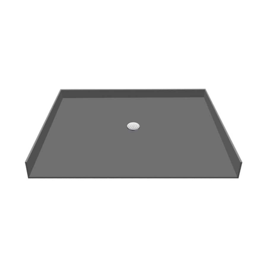 Redibase Made for Tile Molded Polyurethane Shower Base (Common: 37-in W x 63-in L; Actual: 37-in W x 63-in L)