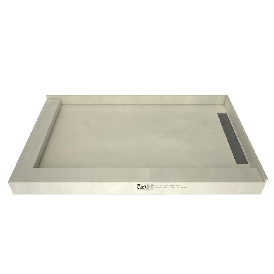 WonderFall Trench Made for Tile Molded Polyurethane Shower Base (Common: 32-in W x 48-in L; Actual: 32-in W x 48-in L)