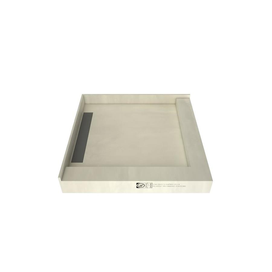 WonderFall Trench Made for Tile Molded Polyurethane Shower Base (Common: 36-in W x 36-in L; Actual: 36-in W x 36-in L)