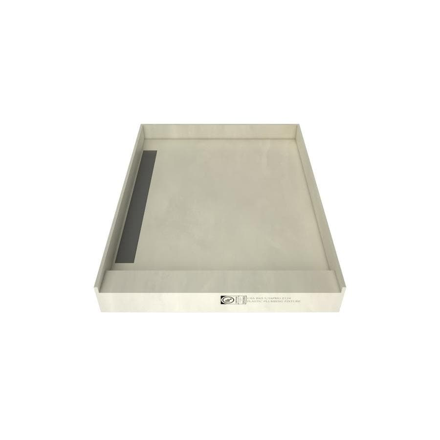 WonderFall Trench Made for Tile Molded Polyurethane Shower Base (Common: 42-in W x 36-in L; Actual: 42-in W x 36-in L)