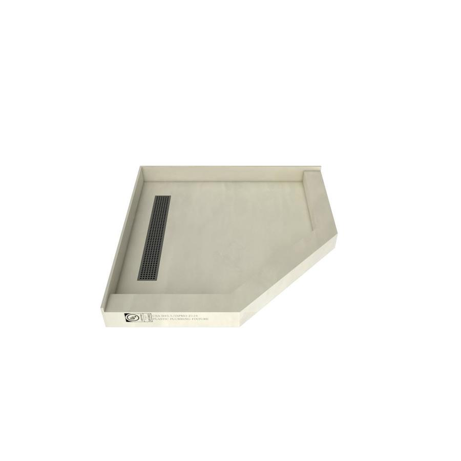 Redi Neo Made for Tile Molded Polyurethane Shower Base (Common: 36-in W x 36-in L; Actual: 36-in W x 36-in L)
