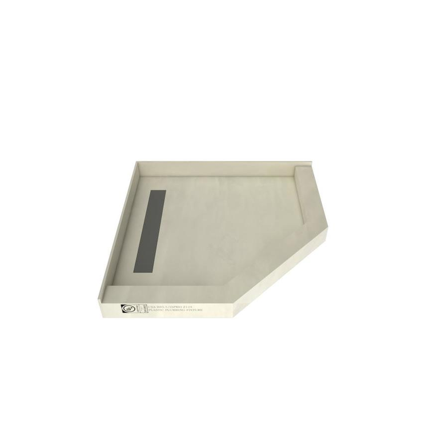 Shop Redi Neo Made For Tile Molded Polyurethane Shower Base Common 40 In W X 40 In L Actual