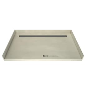 Redi Trench Made For Tile Molded Polyurethane Shower Base 48 in W