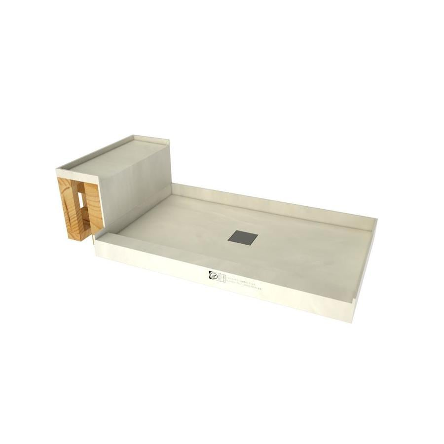 Baseu0027N Bench Made For Tile Molded Polyurethane Shower Base (Common: 36