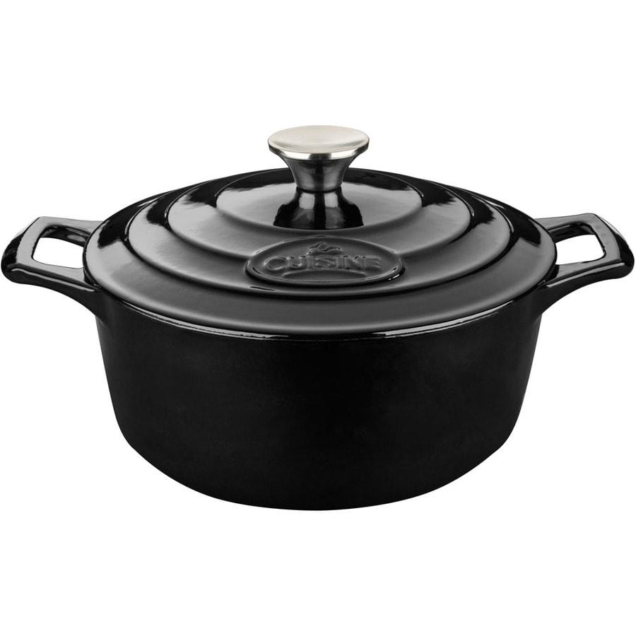 La Cuisine 5-Quart Cast Iron Dutch Oven with Lid
