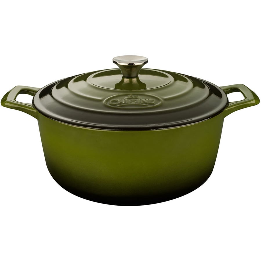 La Cuisine 5-Quart Cast Iron Dutch Oven with Lid